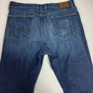 Lucky Brand 329 Classic Straight Mens Jeans 38x32